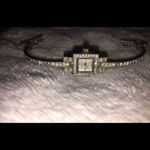 Authentic Cartier Diamond 18K Bracelet Watch